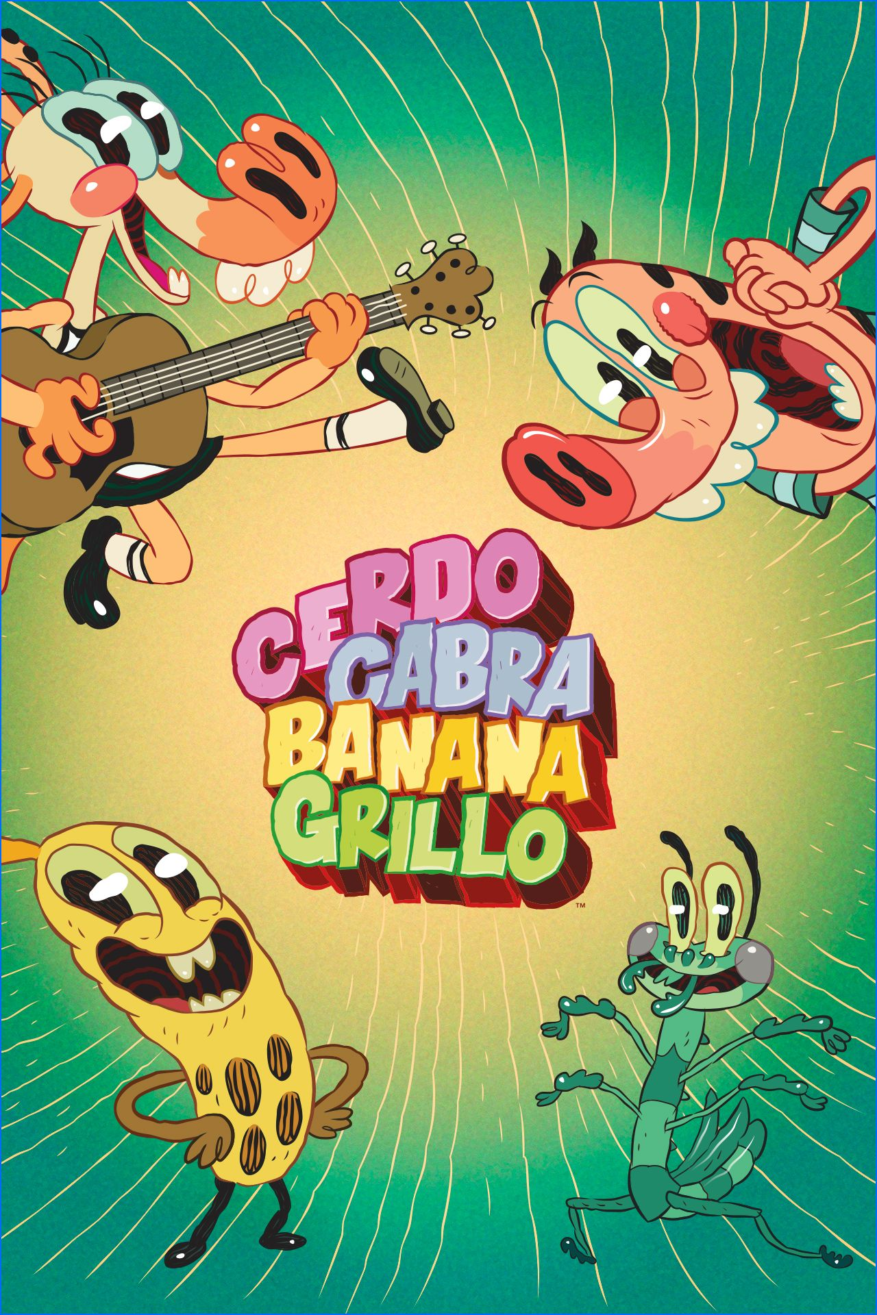 Cerdo Cabra Banana Grillo