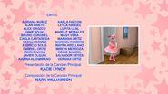 Angelina Ballerina Créditos