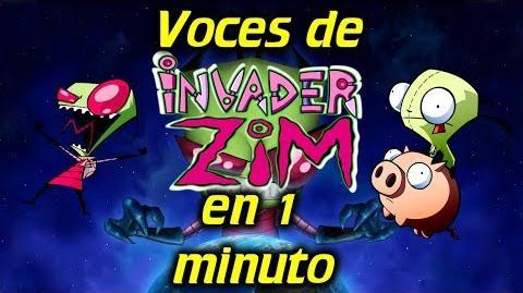Voces de INVASOR ZIM en 1 minuto- -33