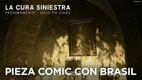 La Cura Siniestra - Pieza Comic Con Brasil 2016 Doblada - Próximamente - Solo en Cines