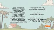 Creditos de doblaje The Loud House ESLA (S320-2)