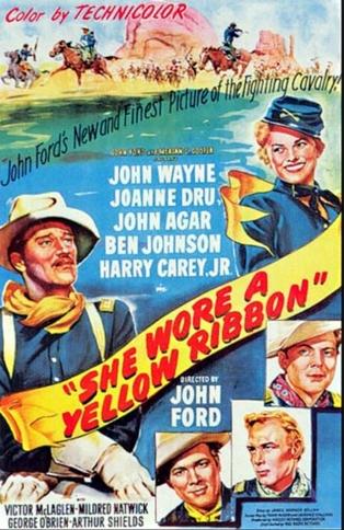 Ella usaba una cinta amarilla