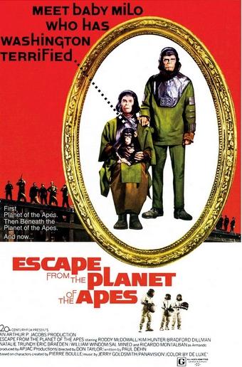 Escape del planeta de los simios
