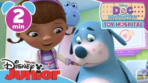 Doc McStuffins Toy Hospital Bye Bye Bouncy Boo-Boos Disney Junior UK