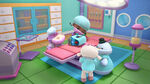 Doc, lambie, hallie and chilly in the operating room