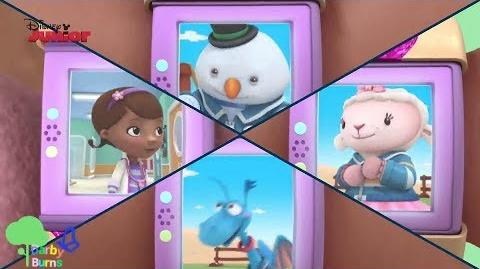 Doc McStuffins Toy Hospital Stay on the Line - Song Music Video