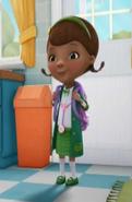 Doc in her St. Patrick's Dress
