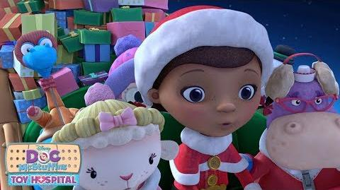 Christmas is Coming To Town Music Video Doc McStuffins Disney Junior