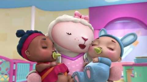 Doc McStuffins - Lambie Stuffy Switcharoo EXCLUSIVE CLIP-0