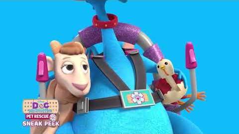 Doc McStuffins Pet Rescue - The Pet Rescue Team! EXCLUSIVE CLIP