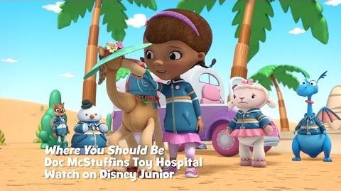 Where You Should Be Music Video Doc McStuffins Disney Junior