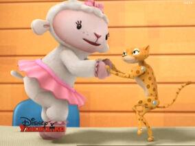Lambie and rita dancing.jpg