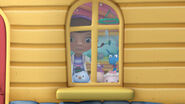 Doc mcstuffins main characters at the window