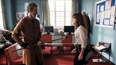 DOCTOR_WHO_Ep_6_Sneak_Peek-_The_Doctor's_Working_at_Clara's_School?!_-_Sept_27_BBC_AMERICA