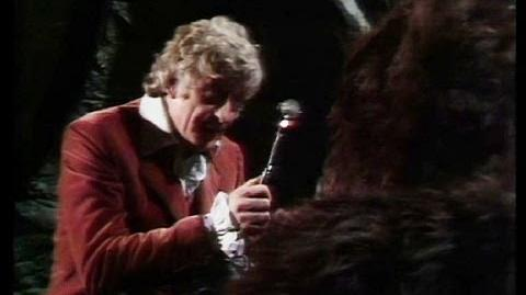 The_Doctor_Hypnotises_Aggedor_-_The_Curse_of_Peladon_-_Doctor_Who_-_BBC