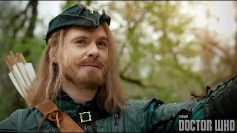 No_such_thing_as_Robin_Hood!_-_Robot_of_Sherwood_Preview_-_Doctor_Who_series_8_-_BBC
