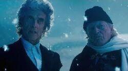 Le_douxième_Docteur_rencontre_le_premier_Docteur_Il_était_deux_fois_Doctor_Who