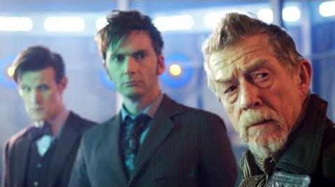 """DOCTOR_WHO_*Exclusive_Extended*_Inside_Look_In_Awe_of_John_Hurt_in_""""The_Day_of_The_Doctor"""""""