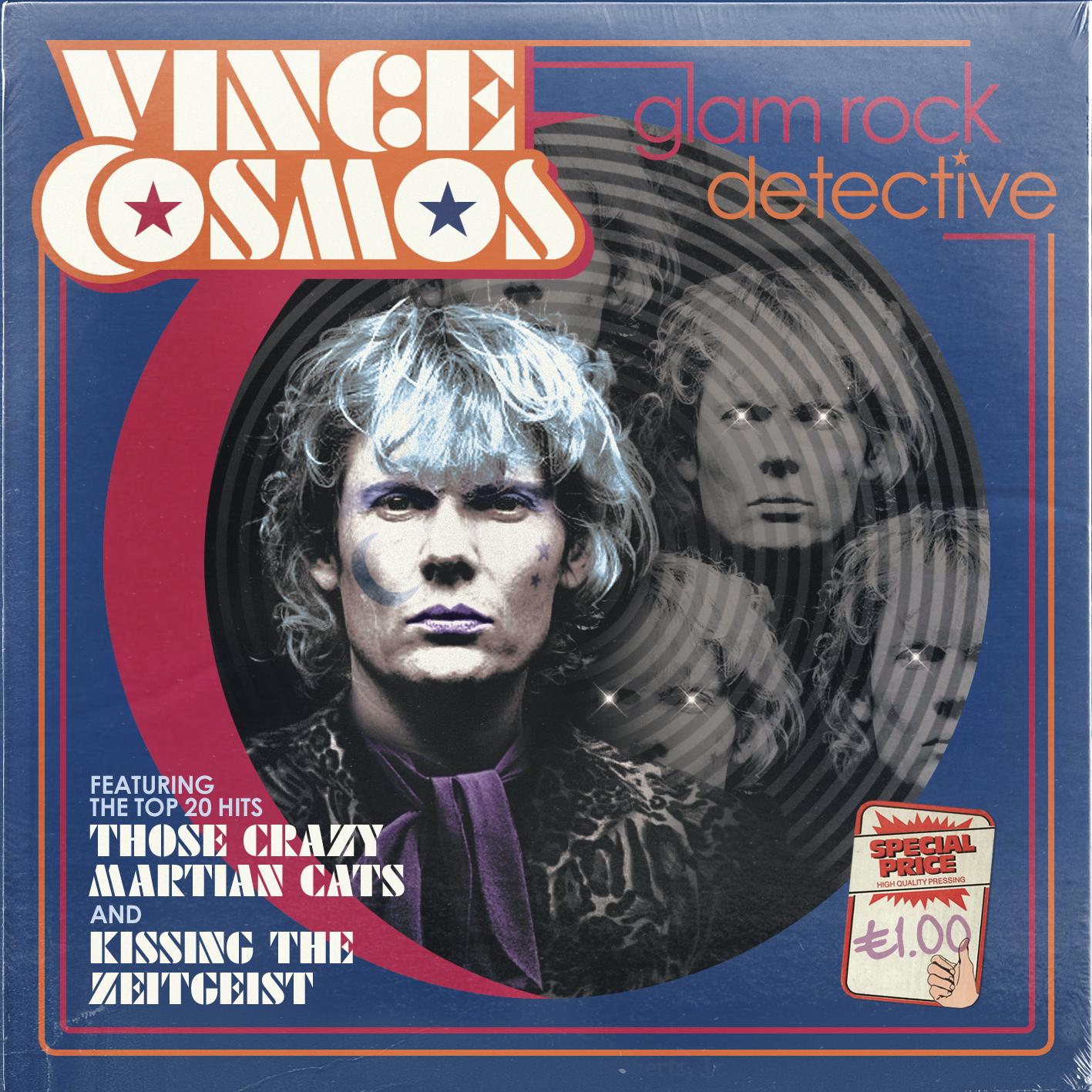 Винс Космос: Глэм-рок детектив