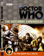 The Sontaran Experiment DVD Cover