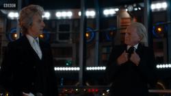 Los dos Doctores en la TARDIS del Duodécimo.