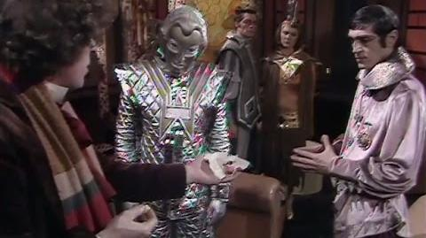 Would You Like a Jelly Baby? - Doctor Who - Robots of Death - BBC