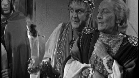 Caesar's_plans_go_up_in_flames_-_Doctor_Who_-_The_Romans_-_BBC