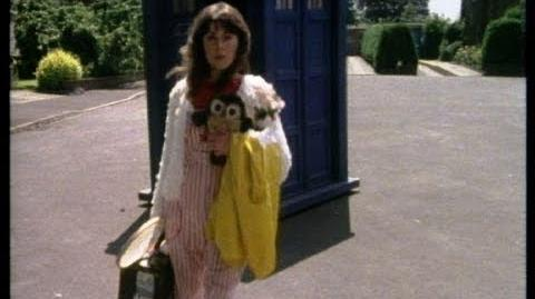 Until we meet again Sarah - Sarah Jane leaves - The Hand of Fear - Doctor Who - BBC