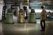 Три Далека и Доктор