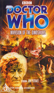 Invasion of the Dinosaurs VHS Australian cover