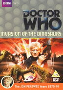 Invasion of the Dinosaurs Region 2 DVD Cover
