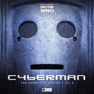 Cyberman complete audio series cover