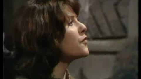 Sarah Jane Smith quizzes the Doctor - Doctor Who - The Time Warrior - BBC