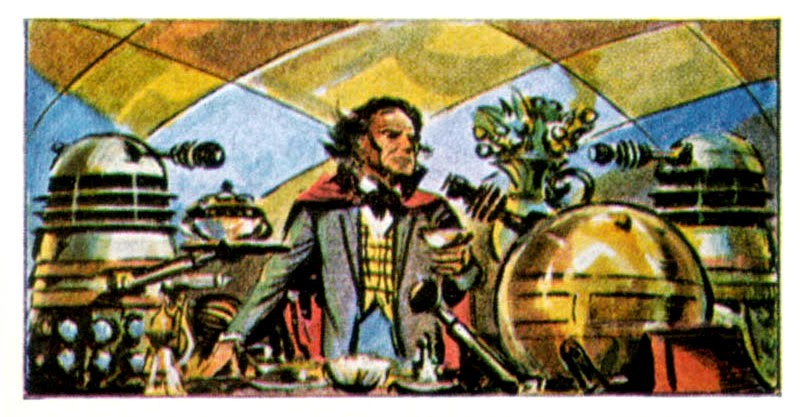Доктор Кто и далеки (рассказ)