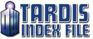 TARDIS Index file (logo met tekst)