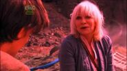 Jo Grant talks with 11th Doctor