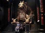091 Drachenstatue