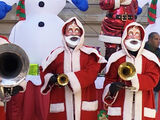 Weihnachtsmann-Roboter