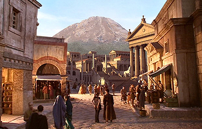 The Fires of Pompeii (Inhaltsangabe)