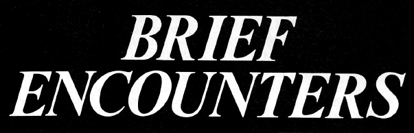 Brief Encounter (DWM 169)