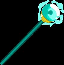 Crystal Staff-Ball