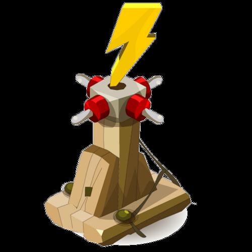 Bambooto Wood Lightning Thrower