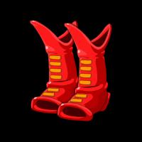 Captain Scarlight's Boots