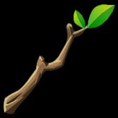 Dark Treechnid Root Wand