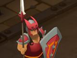 Warrior Bishom Pot