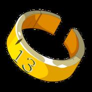 Yellow Piwi Ring