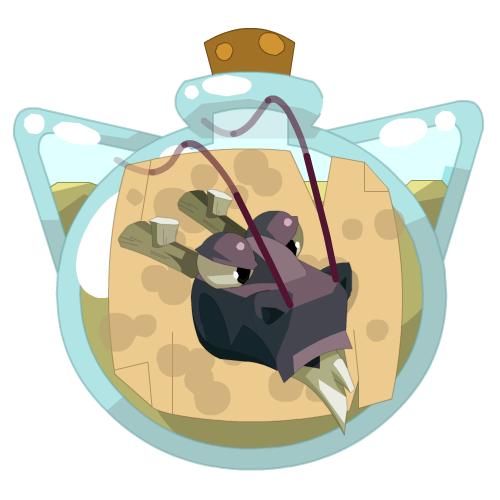 Black Dragoone Improvement Potion