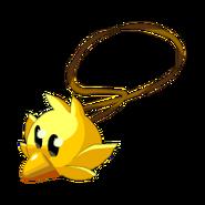 Yellow Piwi Amulet