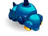 Blue Larva