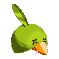 Green Piwi Hat